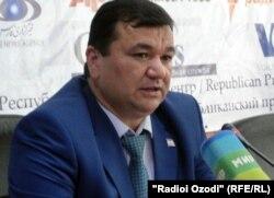 Абдураҳим Холиқзода, раиси пешини Кумитаи дини Тоҷикистон.