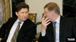 Алексей Миллер и Анатолий Чубайс возглавляют ведомства, к которым у инвесторов есть повышенный интерес