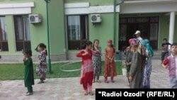 Атфоли раштӣ дар як истироҳатгоҳи вилояти Суғд