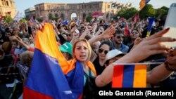 Protestat e 2 majit në Jerevan
