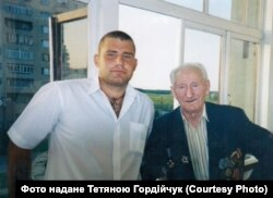 Сергій Гордійчук з онуком Олександром