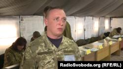 Тарас, военнослужащий ВСУ, глава избирательного спецучастка