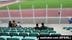 Köpetdag stadionyndaky tomaşaçylar