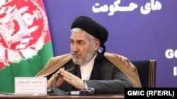 د افغانستان د کډوالو او بېرته راستنېدونکو چارو وزیر سید حسین عالمي بلخي.