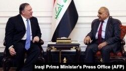 Իրաքի վարչապետ Ադել Մահդիի ու ԱՄՆ-ի պետքարտուղար Մայք Փոմփեոյի հանդիպումը, Բաղդադ, 9-ը մայիսի, 2019թ․