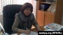 Алмагуль Курманбаева, заместитель декана по учебно-методической и воспитательной работе КазНУ имени аль-Фараби. Алматы, 20 февраля 2013 года.