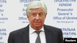 Ukrainian Prosecutor-General Viktor Shokin (file photo)