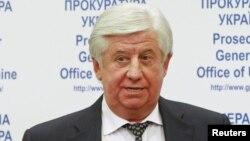 Украина бас прокуроры Виктор Шокин.