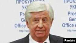 Виктор Шокин в бытность генеральным прокурором Украины. Киев, 2 ноября 2015 года.