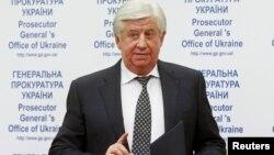 Ուկրաինայի գլխավոր դատախազ Վիկտոր Շոկին, արխիվ