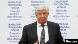 Генеральный прокурор Украины Виктор Шокин.