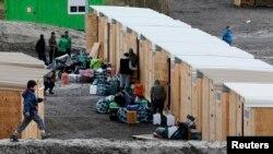 Migrantski kamp na sjeveru Francuske, 7. mart 2016.
