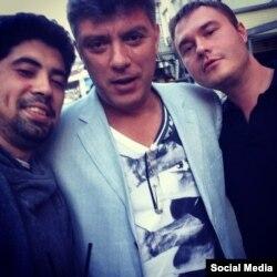 Хаким (слева) и Борис Немцов