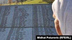 Potočari: Spomenik sa imenima žrtava genocida u Srebrenici