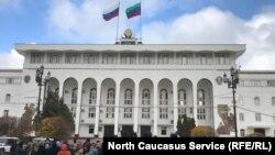 Здание правительства Дагестана (архивное фото)