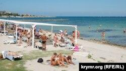 Пляж «Омега» в Севастополі