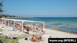 Пляж «Омега» в Севастополе