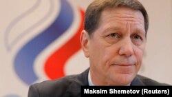Russian Olympic Committee President Aleksandr Zhukov