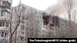 Ռուսաստան - Գազի պայթյունի հետևանքով Վոլգոգրադի բնակելի շենքում առաջացած հրդեհը, 20-ը դեկտեմբերի, 2015թ․
