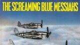 Detaliu de pe coperta albumului Good & Gone, The Screaming Blue Messiahs, 1985.