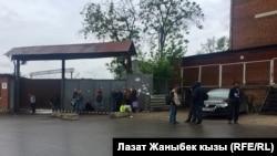 Чернорабочие в Москве.