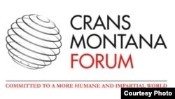 Crans Montana Forumunun loqosu