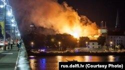 Пажар у Рыскім замку