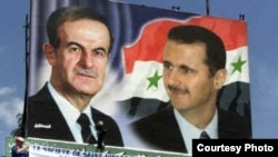 Syrian President Bashar al-Assad (right) took over from his father Hafez in 2000.
