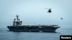 USS Theodore Roosevelt təyyarə daşıyan gəmisi