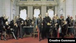 Картина немецкого художника Антона фон Вернера, изображающая последнее заседание Берлинского конгресса (1878)