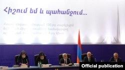 Армения - 5-е заседание Государственной комиссии по координации мероприятий, посвященных 100-й годовщине Геноцида армян, Ереван, 29 января 2014 г.