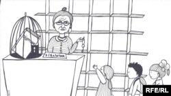 Карикатура Євгенії Олійник