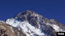 A 4,446-meter peak in the Tien Shan Mountains in northern Kyrgyzstan is now Mt. Putin.