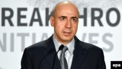 Russian billionaire Yuri Milner in 2015