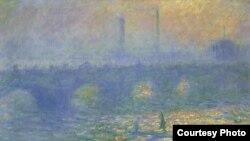 Një pikturë e Claude Monet