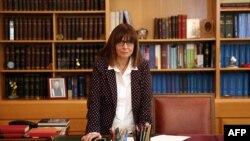 Katerina Sakellaropoulou, predsednica Grčke