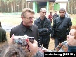 Ігар Маслоўскі вёў сход у Берасьці