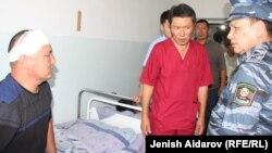 Ղրղըզստան - Սահմանային բախումների հետևանքով տուժածը հիվանդանոցում, 23-ը հուլիսի, 2019թ․