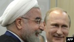 Президент Ірану Хасан Роугані та президент Росії Володимир Путін (фото архівне)