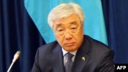 Kazakh Foreign Minister Erlan Idrissov (file photo)