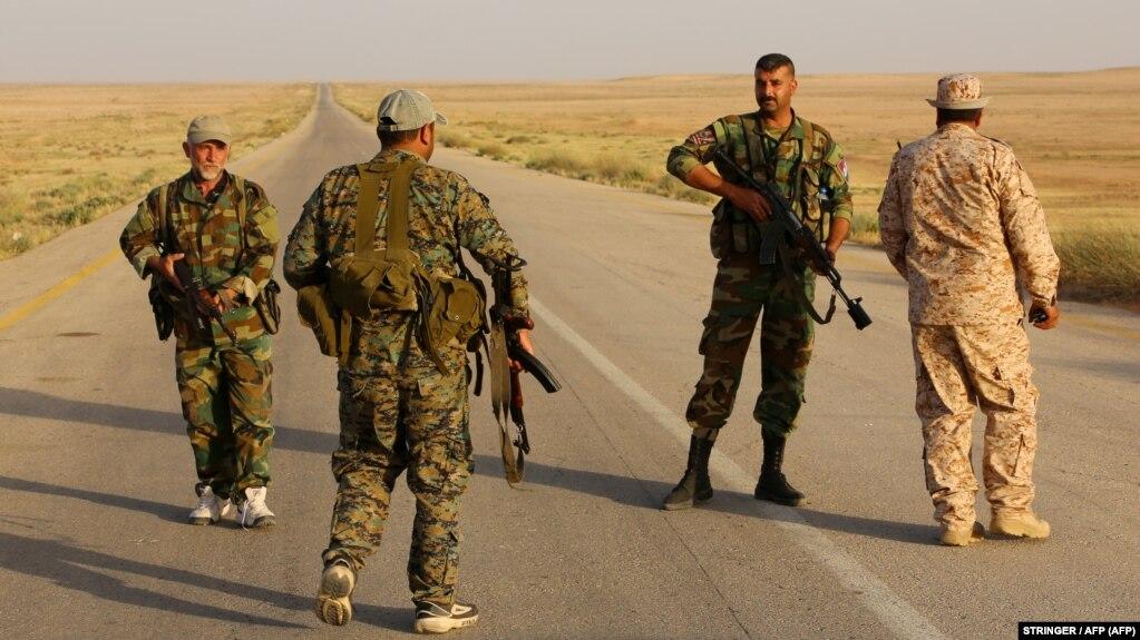 نیروهای دولتی سوریه در اطراف سبع بیار