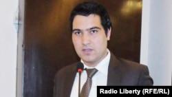 صیام الدین پسرلی سخنگوی اتاق تجارت و صنایع افغانستان