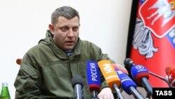Так называемый глава ДНР Александр Захарченко