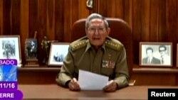 رائول کاسترو رئیس جمهور کیوبا