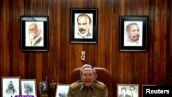 Кубанын жетекчиси Раул Кастро.