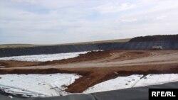 Захоронение ртутных отходов. Темиртау, август 2009 года.
