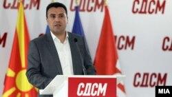 Зоран Заев на прес-конференција во СДСМ