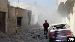 Разрушенные здания в Сирии. Иллюстративное фото.