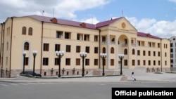 Լեռնային Ղարաբաղի կառավարության շենքը Ստեփանակերտում, արխիվ