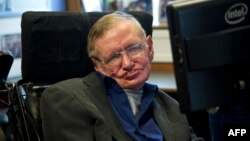 British physicist Stephen Hawking in 2013